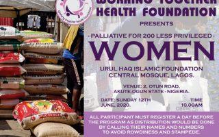 Palliative for 200 Less Privilege Women