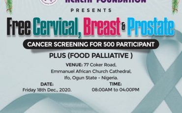 Free Cervical, Breast and Prostate  Cancer Screening for 500 Participant