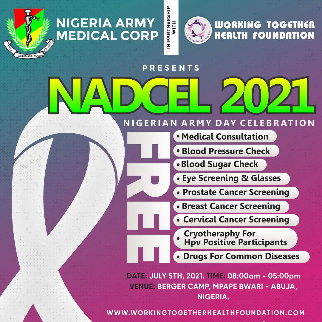 NADCEL 2021 Nigeria Army Day Celebration